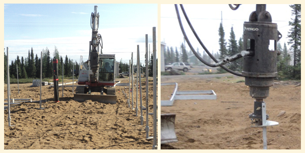 Labrador Helical Pier Foundation Systems
