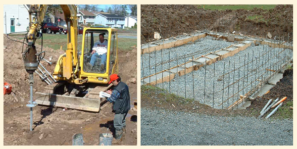 Residential Foundations Helical Foundation System