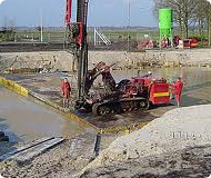Iron Pipe Piles- Driven Ductile